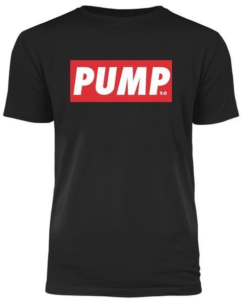 PUMP - Schwarzes Herren T-Shirt
