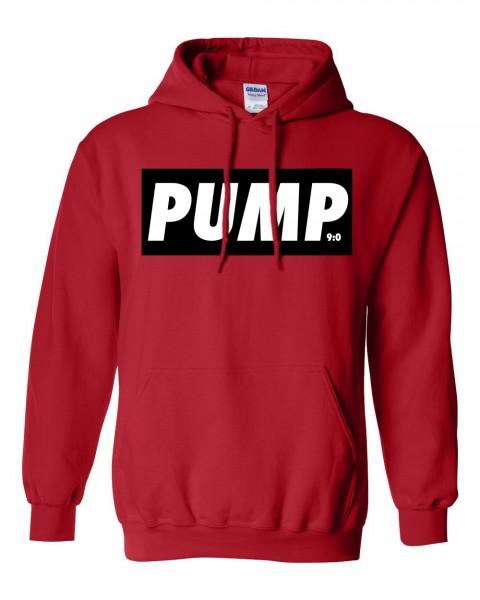 PUMP - Roter Herren Hoodie