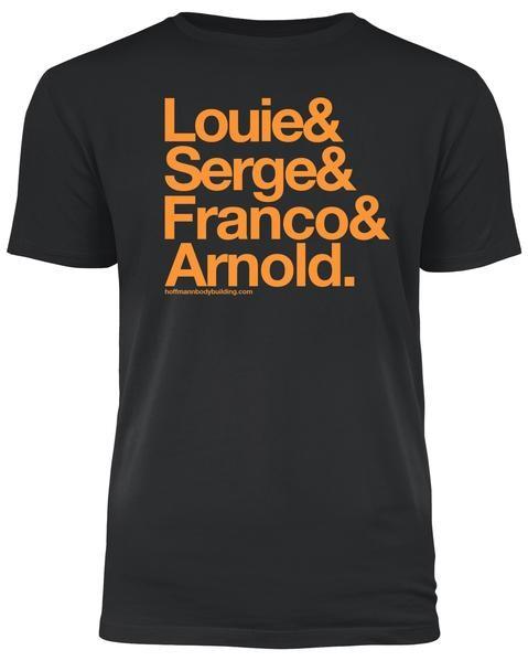 Fab Four - Schwarzes Herren T-Shirt