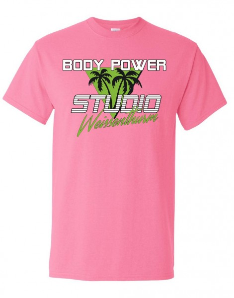 Body Power Studio Florida '88 - Pinkes Unisex T-Shirt