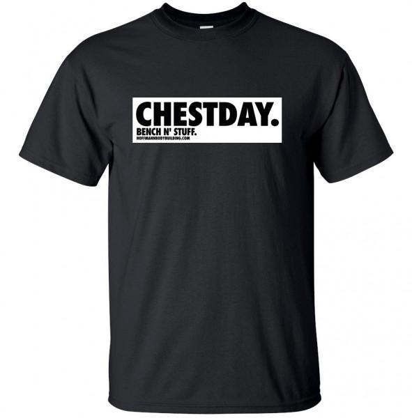 CHESTDAY - BENCH N' STUFF - schwarzes unisex T-Shirt