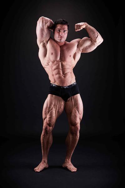 David Hoffmann Bodybuilding-Poster A1