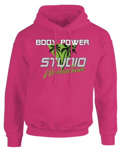 Body Power Studio Florida '88 - Pinker Unisex Hoodie