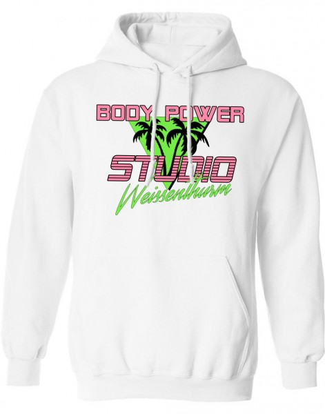 Body Power Studio Florida '88 - Weißer Unisex Hoodie