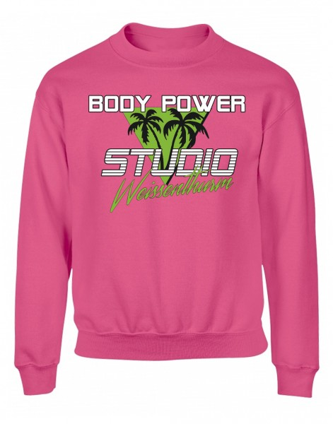Body Power Studio Florida '88 - Pinker Unisex Sweater