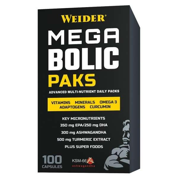 Weider Megabolic Paks - 100 Kapseln